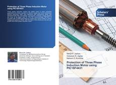 Capa do livro de Protection of Three Phase Induction Motor using PIC18F4431