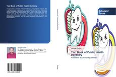 Capa do livro de Text Book of Public Health Dentistry