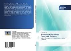 Buchcover von Modeling Multi-period Corporate Defaults