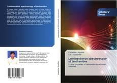 Bookcover of Luminescence spectroscopy of lanthanides