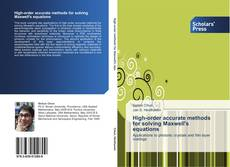 Capa do livro de High-order accurate methods for solving Maxwell's equations