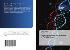 Bookcover of Genetics-An Evolving Concept in Periodontolgy.