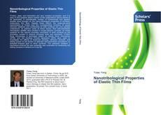 Capa do livro de Nanotribological Properties   of Elastic Thin Films