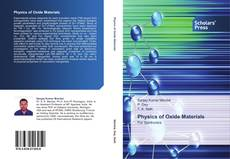 Copertina di Physics of Oxide Materials