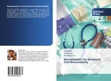 Capa do livro de Nanoemulsion for Enhanced Oral Bioavailability