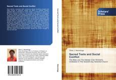 Portada del libro de Sacred Texts and Social Conflict