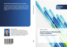 Bookcover of Audit Evidence Obtained By Libyan Auditors