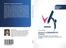 Bookcover of Research in Sudanese HIV Patients