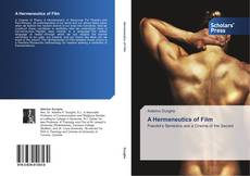 Bookcover of A Hermeneutics of Film