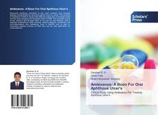 Bookcover of Amlexanox- A Boon For Oral Aphthous Ulcer's