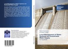 Bookcover of Local Management of Water Systems and Sustainable Water Supply
