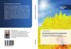 Bookcover of Re-thinking School Leadership
