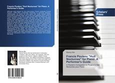 "Portada del libro de Francis Poulenc ""Huit Nocturnes"" for Piano: A Performer's Guide"