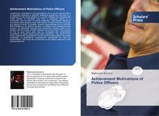 Portada del libro de Achievement Motivations of Police Officers