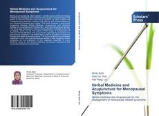 Buchcover von Herbal Medicine and Acupuncture for Menopausal Symptoms