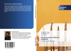 Обложка An Overview of Dental Implants