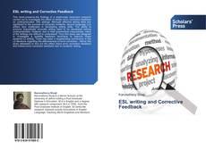 Buchcover von ESL writing and Corrective Feedback