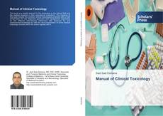 Bookcover of Manual of Clinical Toxicology
