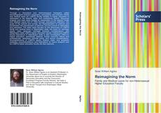 Bookcover of Reimagining the Norm