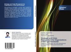 Copertina di Strategic and Crisis Management for Organizations of Non-governmental