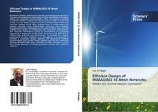 Buchcover von Efficient Design of WiMAX/802.16 Mesh Networks