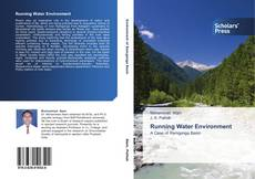 Bookcover of Running Water Environment