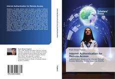 Bookcover of Internet Authentication for Remote Access