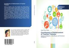 Couverture de Contributors of Achievement of Teacher Trainees