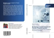 Bookcover of Multiphase reactor analysis for Fischer-Tropsch reaction