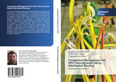 Capa do livro de Congestion Management for HPC Interconnects Using Distributed Routing