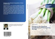 Copertina di Change in the Chemical Composition of Onion during Storage