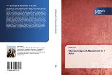 Portada del libro de The Concept of Atonement in 1 John