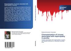 Bookcover of Characterisation of viruses associated with nephropathy in poultry