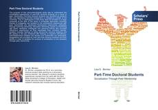 Bookcover of Part-Time Doctoral Students