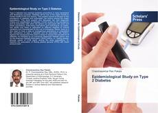 Bookcover of Epidemiological Study on Type 2 Diabetes