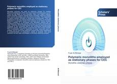 Portada del libro de Polymeric monoliths employed as stationary phases for CEC
