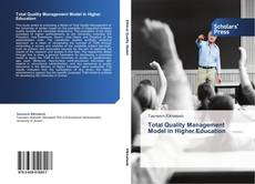 Bookcover of Total Quality Management Model in Higher Education