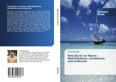 Capa do livro de Holy Quran on Nature: Manifestations, correlations and evidences