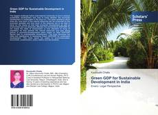 Bookcover of Green GDP for Sustainable Development in India