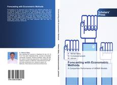 Bookcover of Forecasting with Econometric Methods