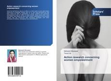 Portada del libro de Action research concerning women empowerment
