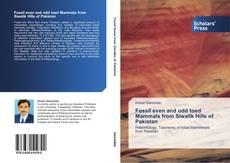 Portada del libro de Fossil even and odd toed Mammals from Siwalik Hills of Pakistan