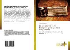 Couverture de Lo que aparece en los Evangelios (pero que no se dice)- Tomo II