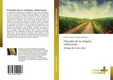 Capa do livro de Filosofía de la religión, reflexiones