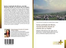 Capa do livro de Santa Landrada de Bilzen, nacida bendita desde el vientre de su madre