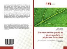 Bookcover of Évaluation de la qualité de plants produits en pépinières forestières