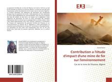Portada del libro de Contribution a l'étude d'impact d'une mine de fer sur l'environnement