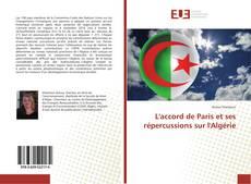 Couverture de L'accord de Paris et ses répercussions sur l'Algérie