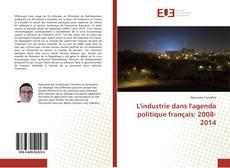 Capa do livro de L'industrie dans l'agenda politique français: 2008-2014