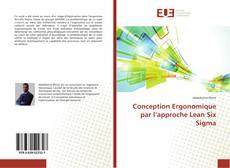 Capa do livro de Conception Ergonomique par l'approche Lean Six Sigma